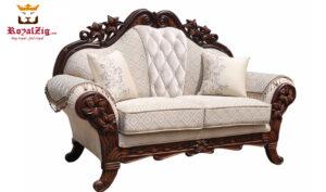Lower Parel Teak Wood Sofa Set (3)