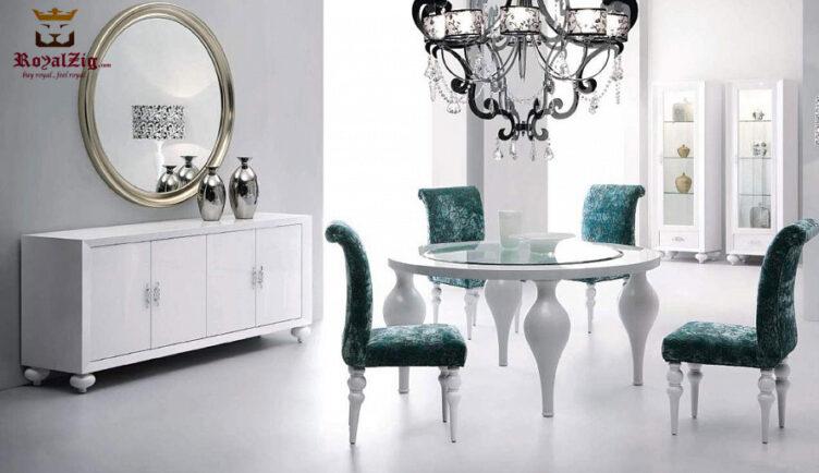 Luxury Turning Round Dining Table