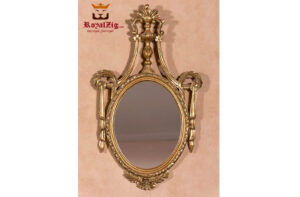 Golden Wall Mirror Frame