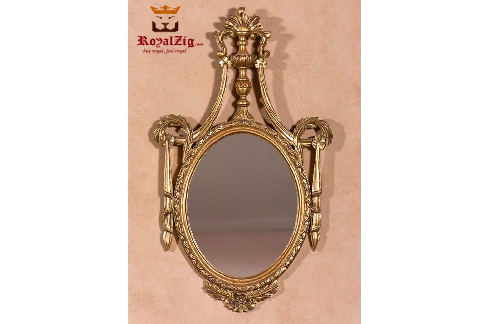 Golden Wall Mirror Frame