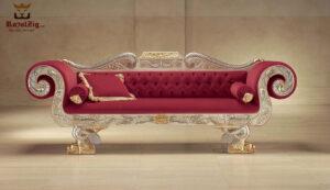 Maharaja Style 3 Seater Sofa