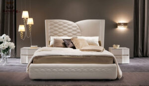 Modern Luxury Upholstered Tufted Bed 1
