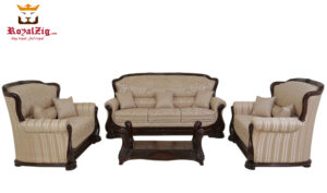 Ulsoor Handcrafted Sofa Set
