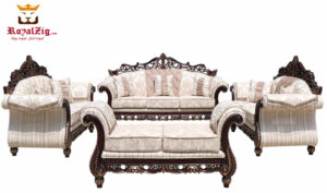 Saharanpur Style Classic Carving Sofa Set