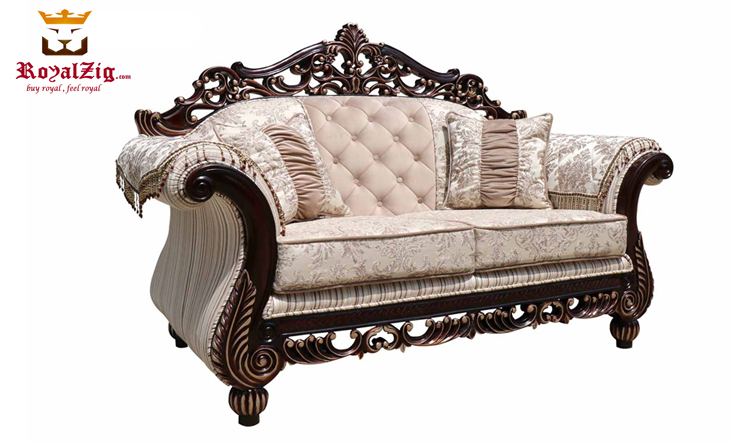 Saharanpur Style Classic Carving Sofa Set