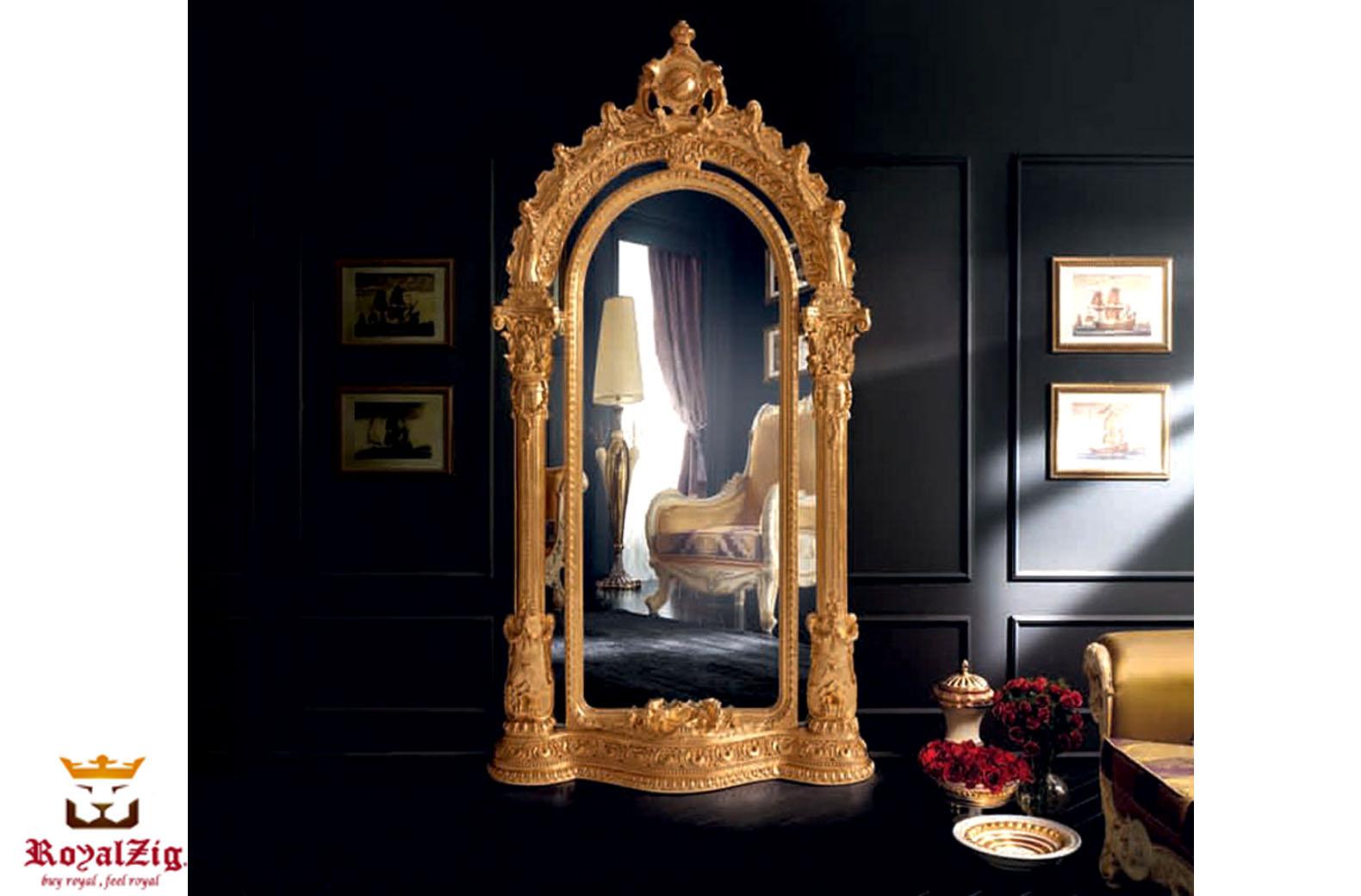 Luxury Gold Mirror Frame