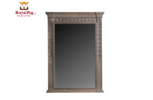 Saharanpur Style Carved Mirror With Console