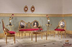 French Style Royal Classic Sofa Set