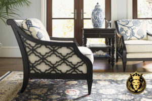British West Style Wooden Sofa Set Online in India