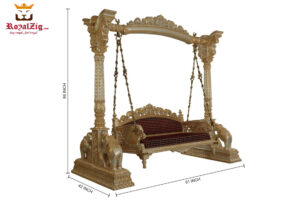 Buy Royal Teak Wood Swing Royalzig