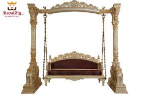 Buy Royal Teak Wood Swing Royalzig