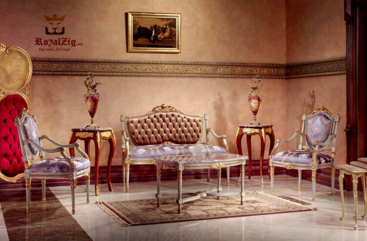 Classic French Style Sofa Set