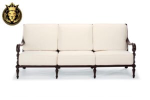 Island Style 3 Seater Wooden Sofa Online in India