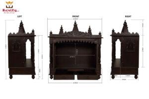 Maa Vaishno Devi Pooja Mandir For Home 4