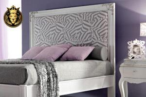 Modern Luxury Turning Legs High Headboard Bed Online in India