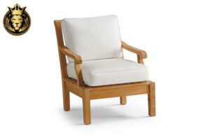 Natural Teak Wood Sofa Set With Cushions Online in India