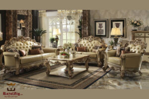 Royal Luxury High Carving Collection Sofa Set