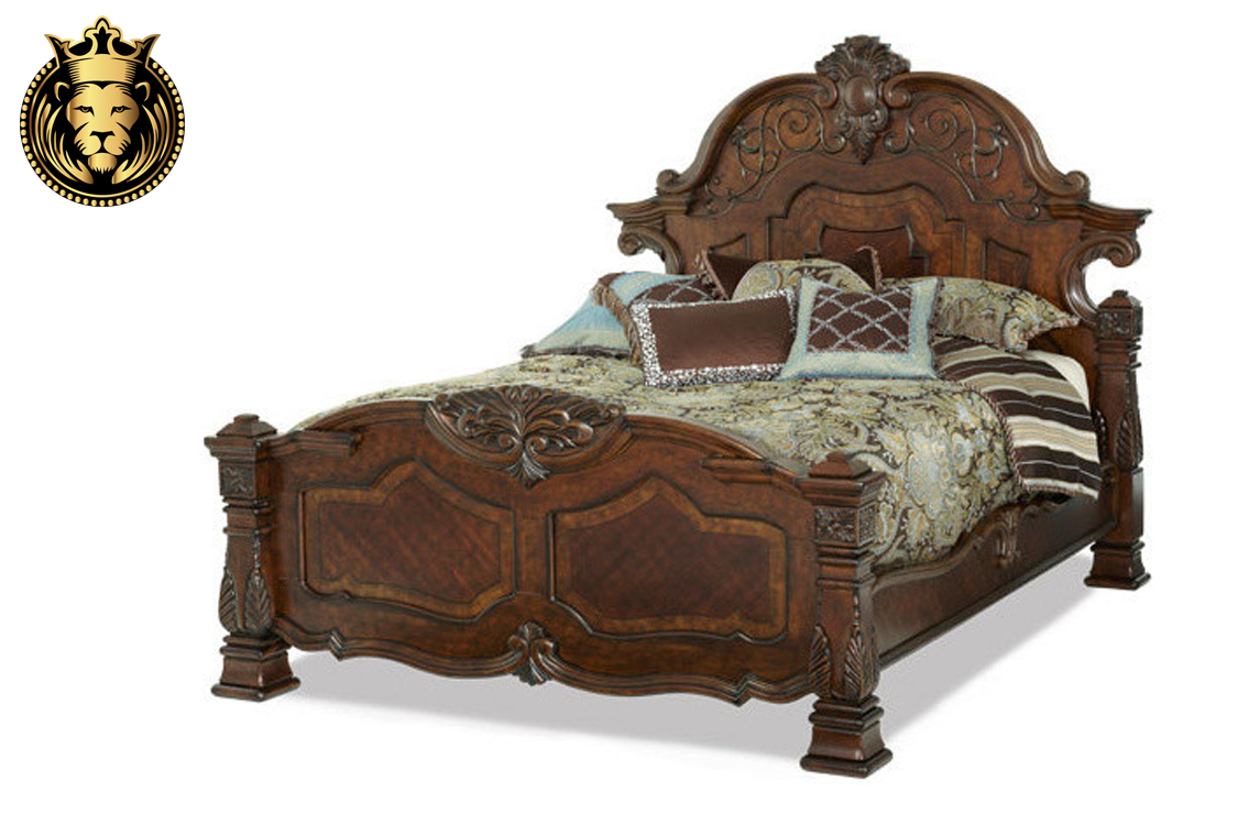 Saharanpur Victorian Antique Style Bedroom Set Royalzig
