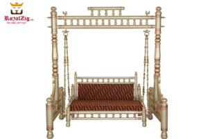 Sankheda Style Teak Wood Indoor Swing (1)