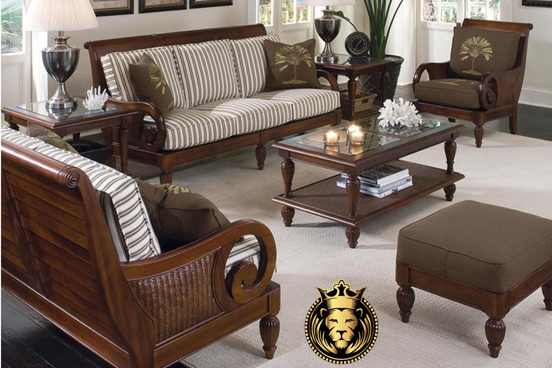 Picture of: 16 Teak Wood Designer Sofa Set Models Quality Teak