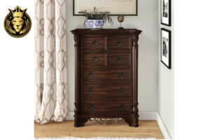 Telsa Antique Style Hand Crafted Wooden Bedroom Set online in India
