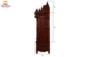 Wooden Carved Shree Jagannath Puri Pooja Mandir 2