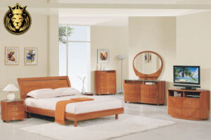 Wooden Contemporary Teak WoodWooden Contemporary Teak Wood Bedroom SetWooden Contemporary Teak Wood Bedroom Set Bedroom Set