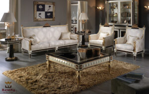 French Style Louis XVI Royal Sofa Set