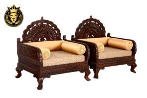 rajasthani carved sofa set 1