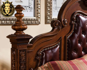 Antique European Style Four Poster Bedroom Set