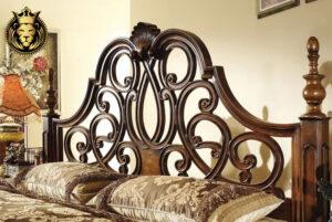 Jaisalmer Fort Antique Style Teak Wood Bedroom Set