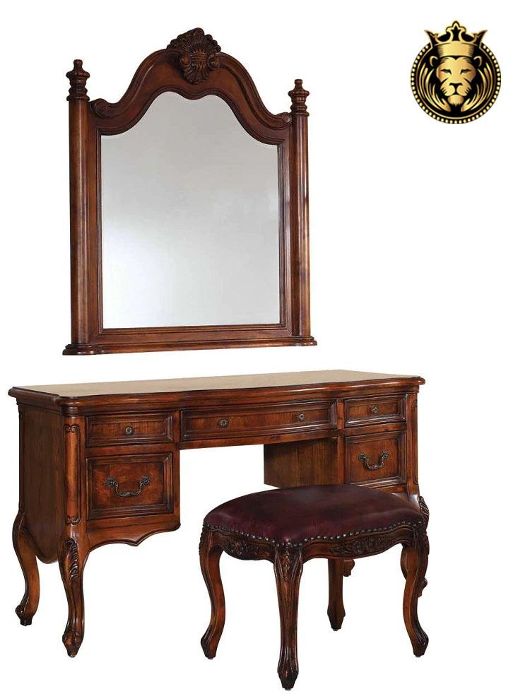 Chittorgarh Fort Antique Style Bedroom Furniture Design