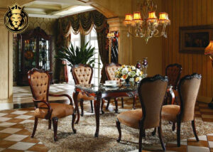 Chandigarh Luxury Mansion 6 Seater Dining Table