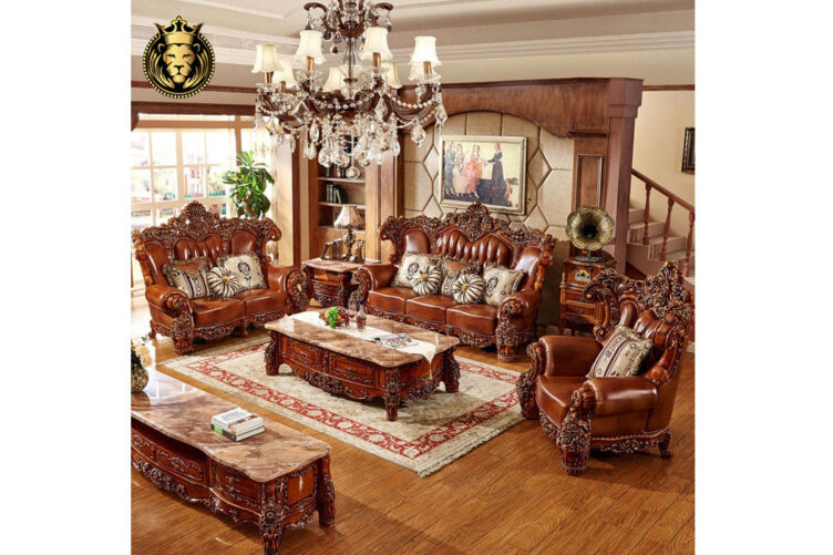European Antique Style Teak Wood Living Furniture