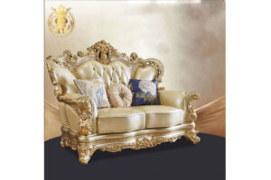 European Style Royal Golden Sofa Set