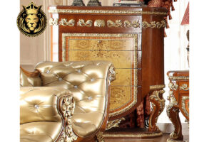 Golden European Style Collection Bedroom set