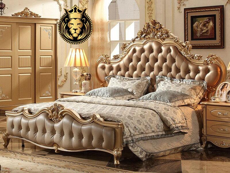 Gorgeous Banglore Luxury Mansion Bedroom Set Furniture