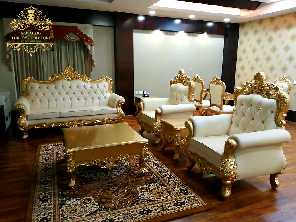 5 Seater Luxury Sofa Set Furniture