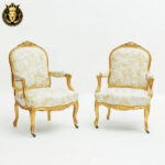 Annie French Style Royal Golden Sofa Set