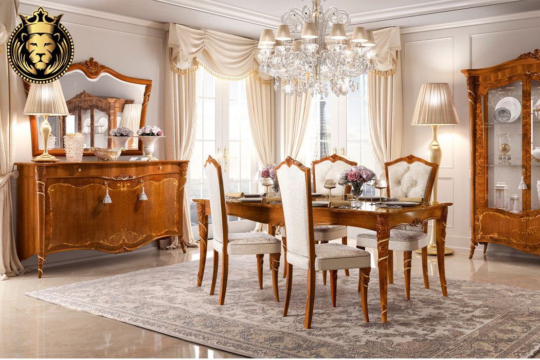 Annie Italian Style Luxury Collection Dining Room Furniture