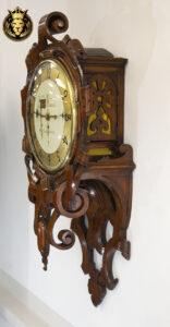 Antique Style Teak Wood Wall Clock