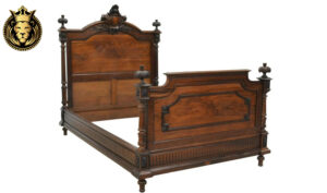 Beautiful French Style Rosewood Queen Bed