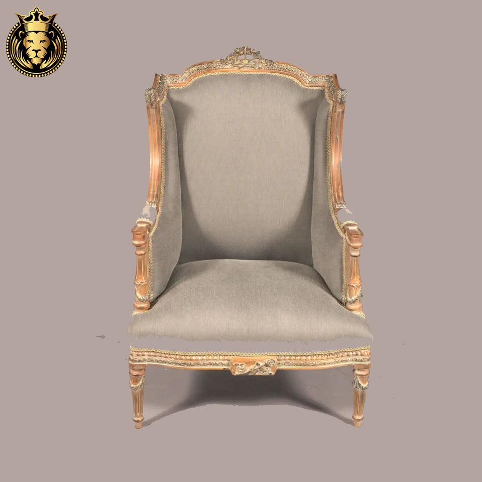 French Style Antique Distressed Finish Sofa Set
