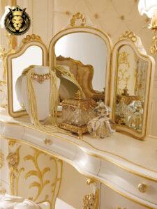 Italian Style Mumbai luxury Villa Bedroom Furniture Set