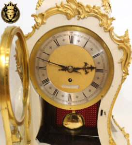 Italian Style Wooden Hand Carved Clock