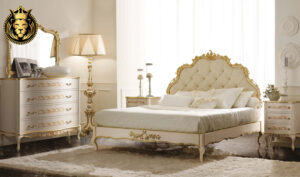 Rania French Style Hand Carved Luxury Bed