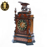 Victorian Style Hand Carved Clock For Decoration