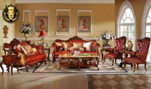Ahmedabad Maharaja Style Teak Wood Sofa SetAhmedabad Maharaja Style Teak Wood Sofa Set