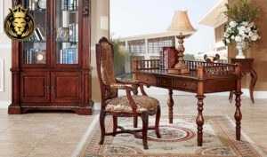 Beautiful Antique Style Lawyer Study Desk