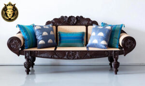 Beautiful Designer British Colonial Style Sofa Set